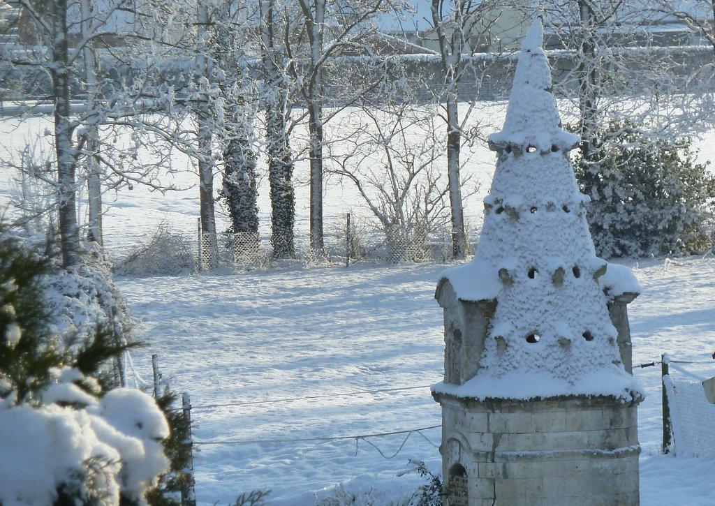 HOULLE sous la Neige janvier 2013