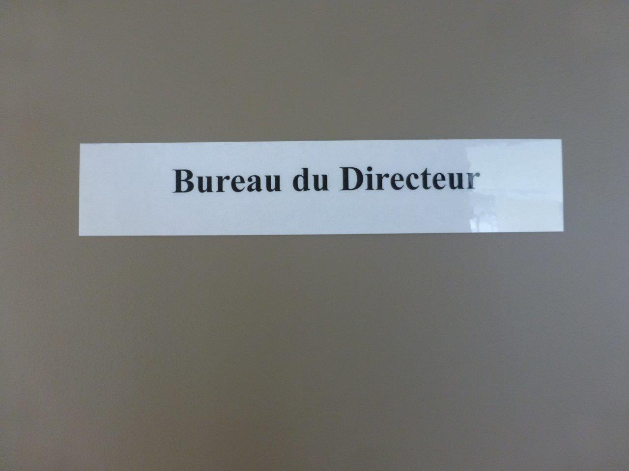 Bureau du Directeur (1)