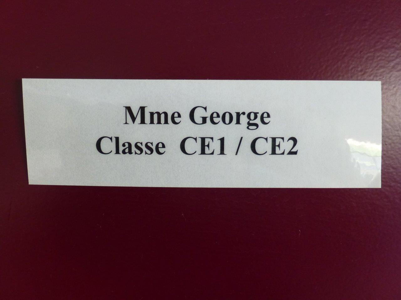 Classe Mme George  (1)