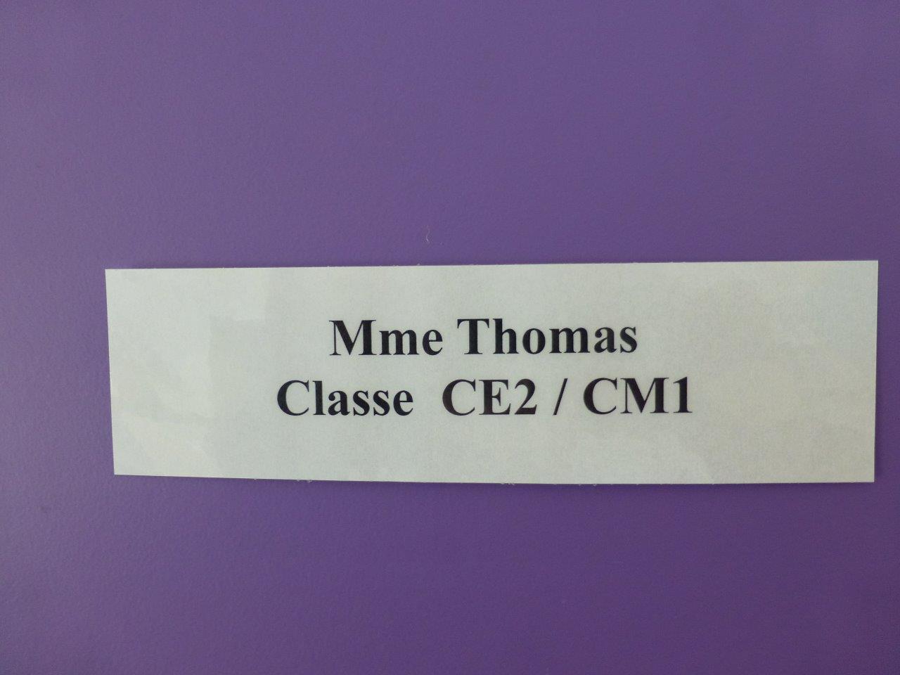 Classe Mme Thomas (1)