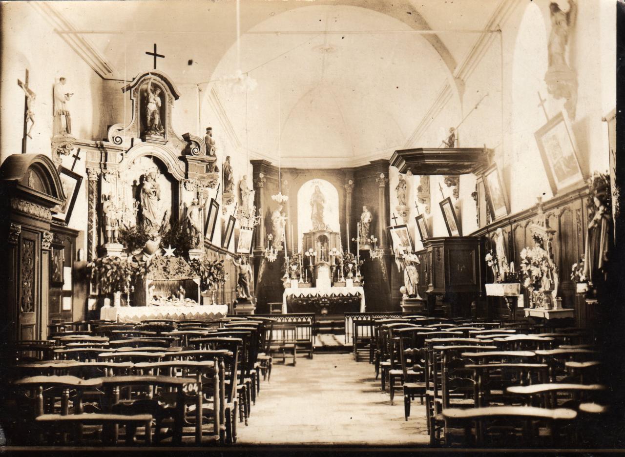 Eglise de Houlle intérieur photo alice douriez