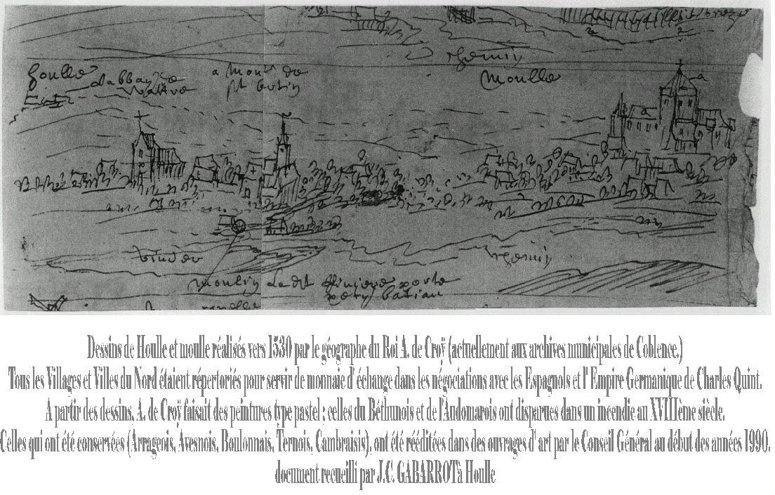 HOULLE DESSIN 1530