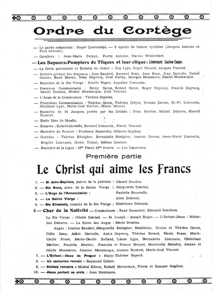 HOULLE PROGRAMME 1946_2