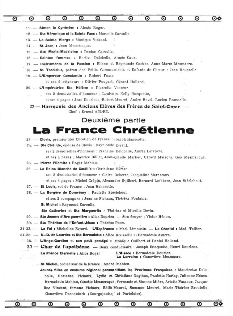 HOULLE PROGRAMME 1946_3
