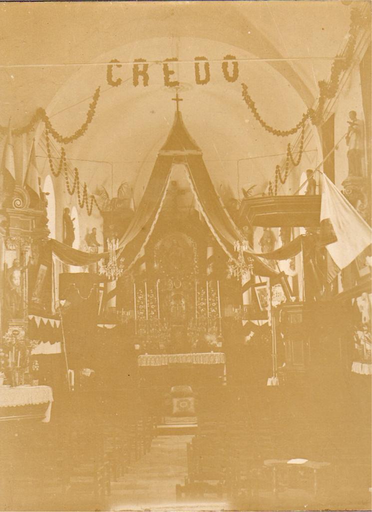 Houlle Venue de Monseigneur Williez en 1908