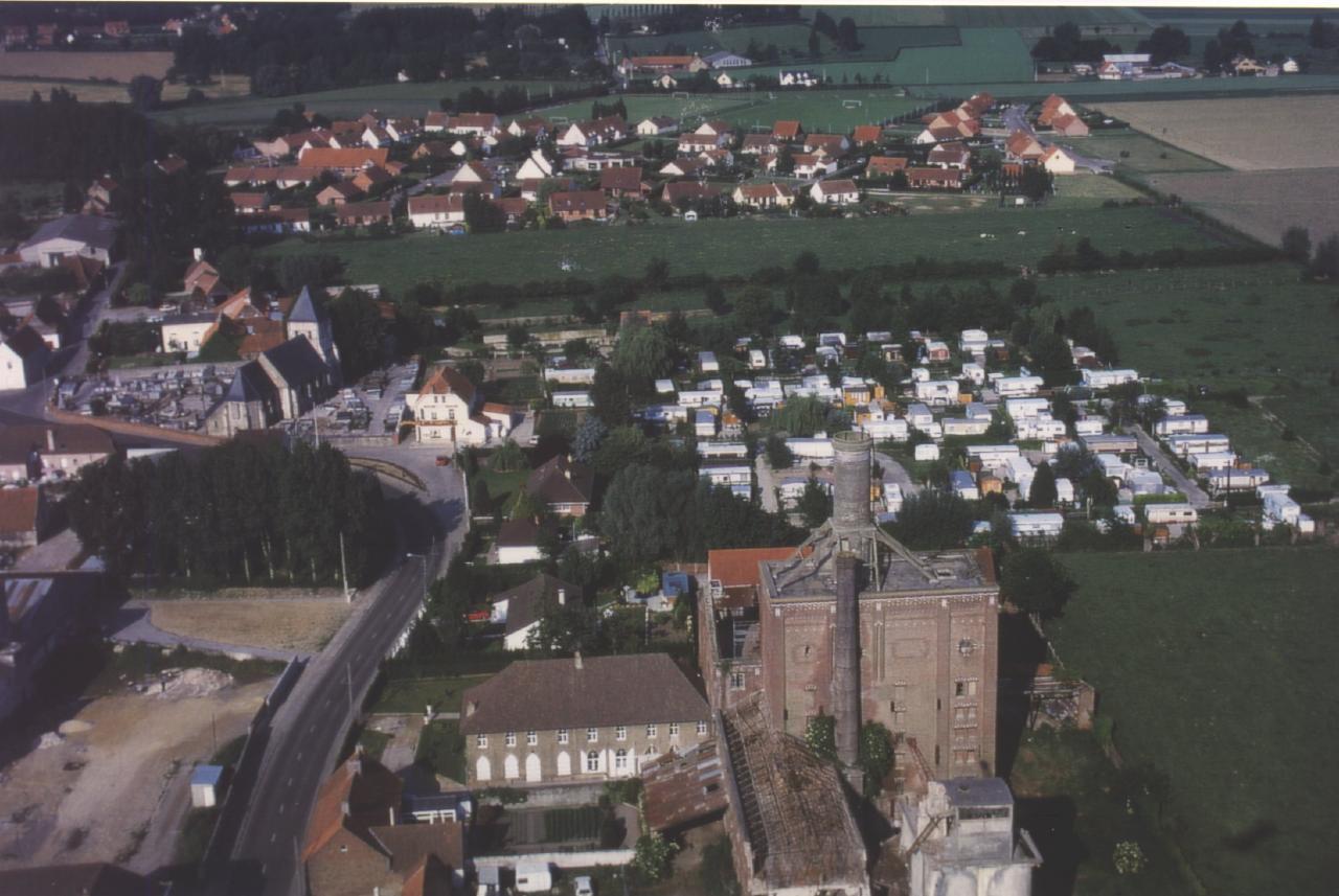 HOULLE VUE AÉRIENNE 1997 8