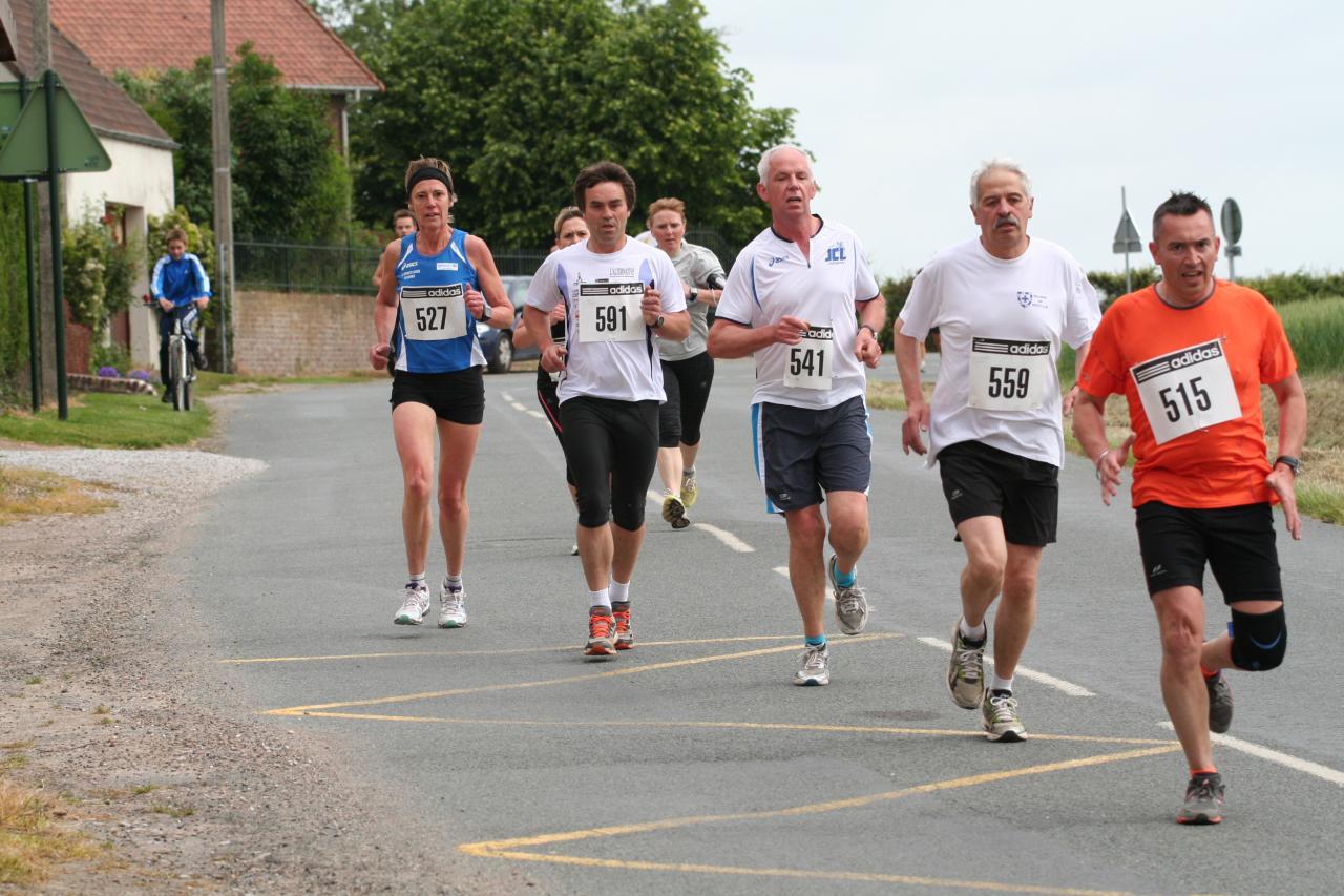 7 km de Houlle 16 juin 2013