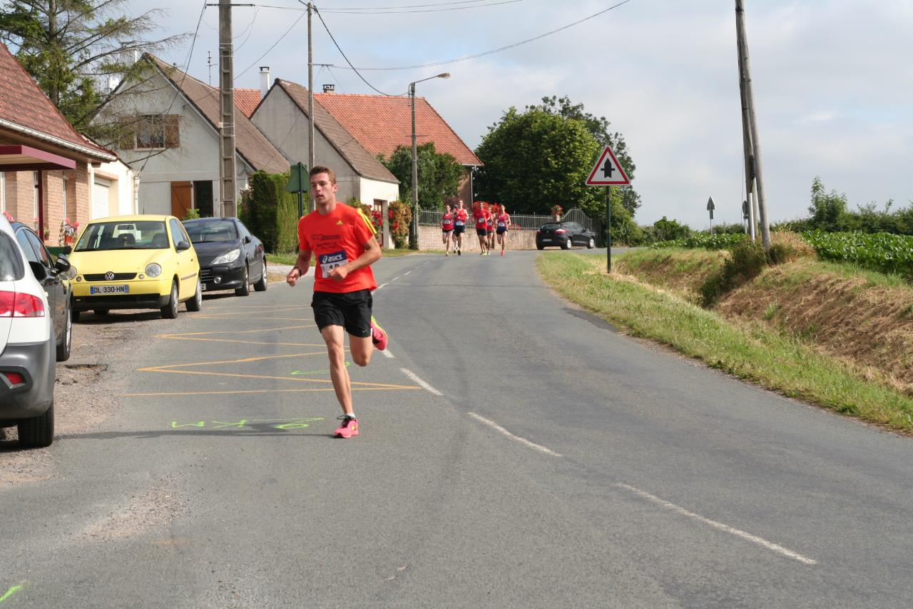 7 km de Houlle - Photos de la course