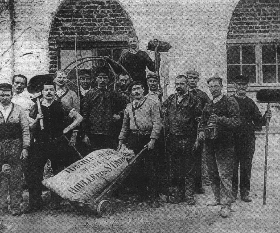 La malterie Paquet en 1915