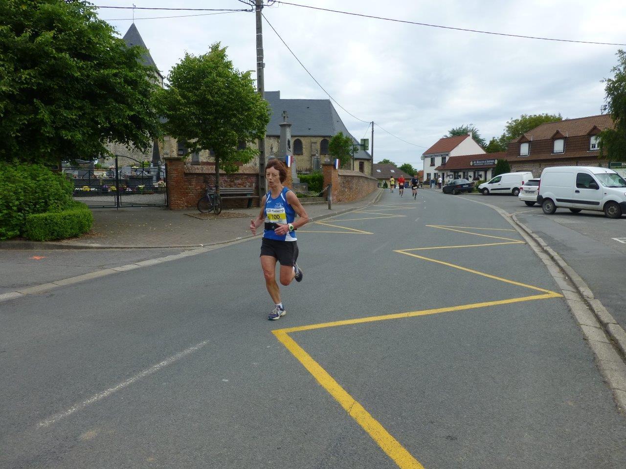 Les 10 km de Houlle - L'arrivée