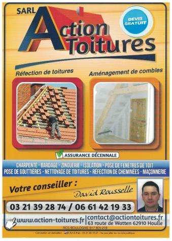 Action toiture