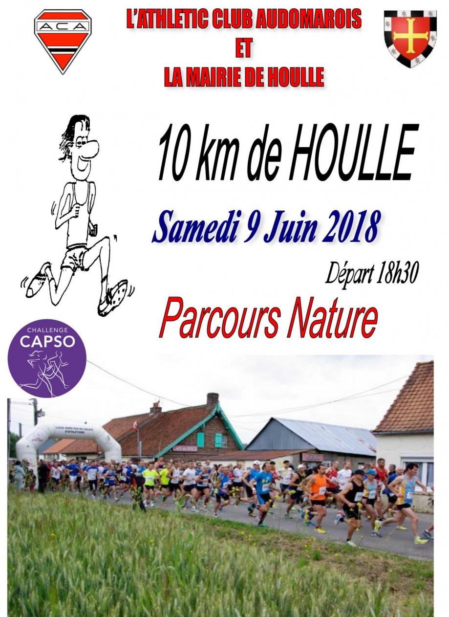 Affiche 10 km houlle 2018 1