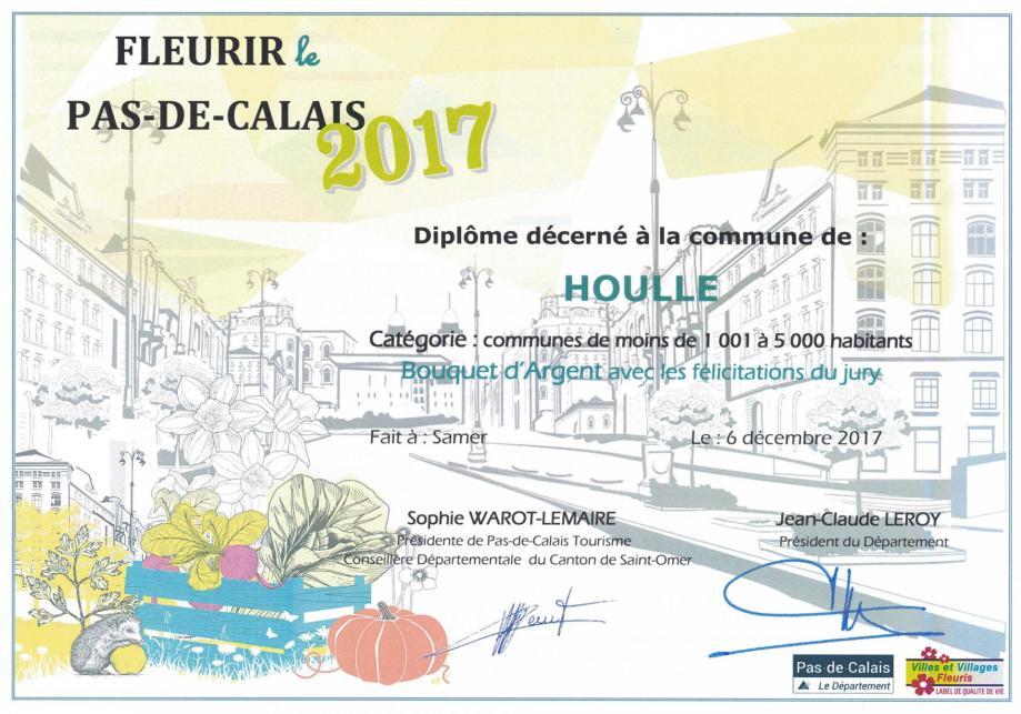 Bouquet argent 2017