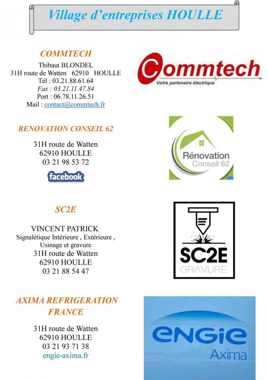Composition10village d entreprises