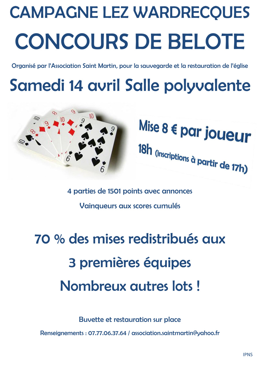 Concours cartes2018