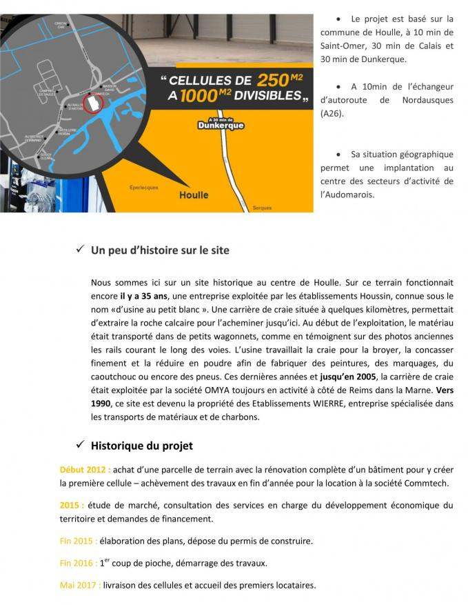 Dossier de presse 1re pierre village entreprises houlle 4