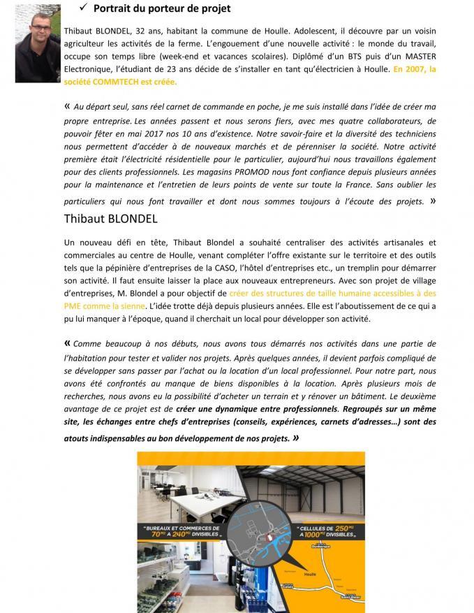 Dossier de presse 1re pierre village entreprises houlle 5