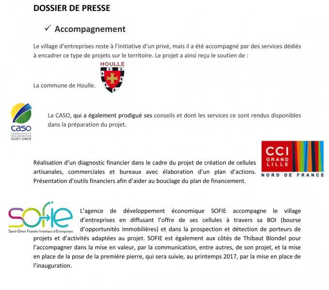 Dossier de presse 1re pierre village entreprises houlle 6