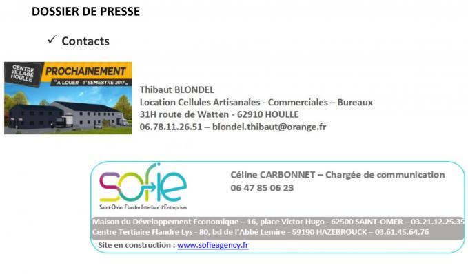 Dossier de presse 1re pierre village entreprises houlle 7