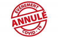 Evenement annule covid