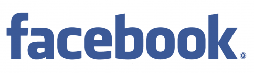 Facebook text logo transparent 10