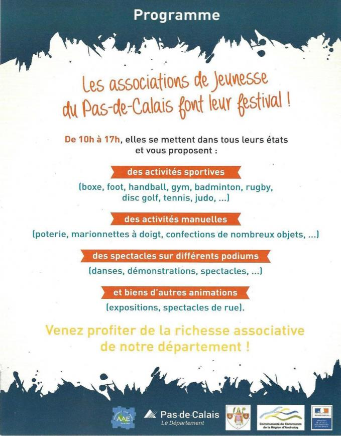 Festival des associations jeunesse 2