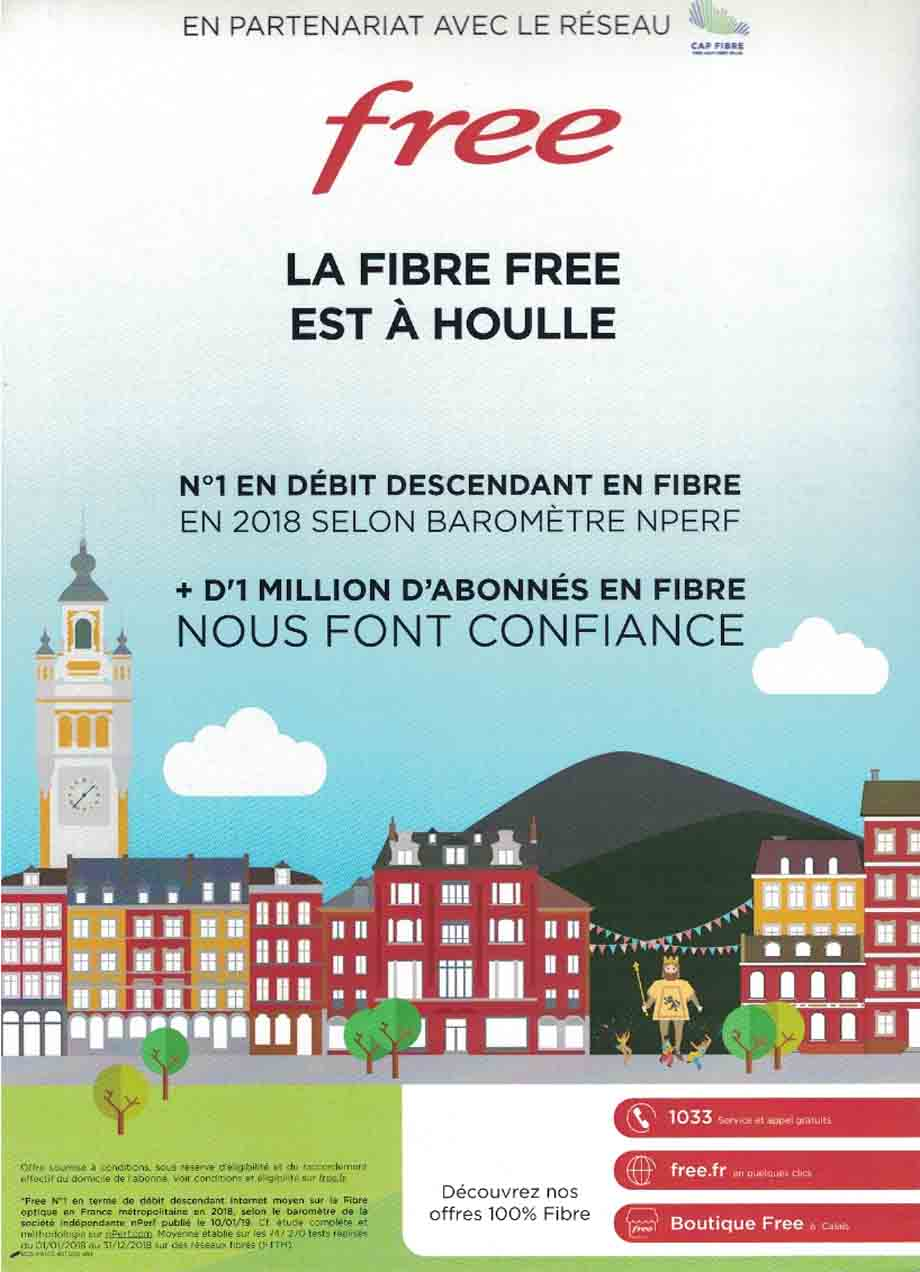 Houlle fibre free