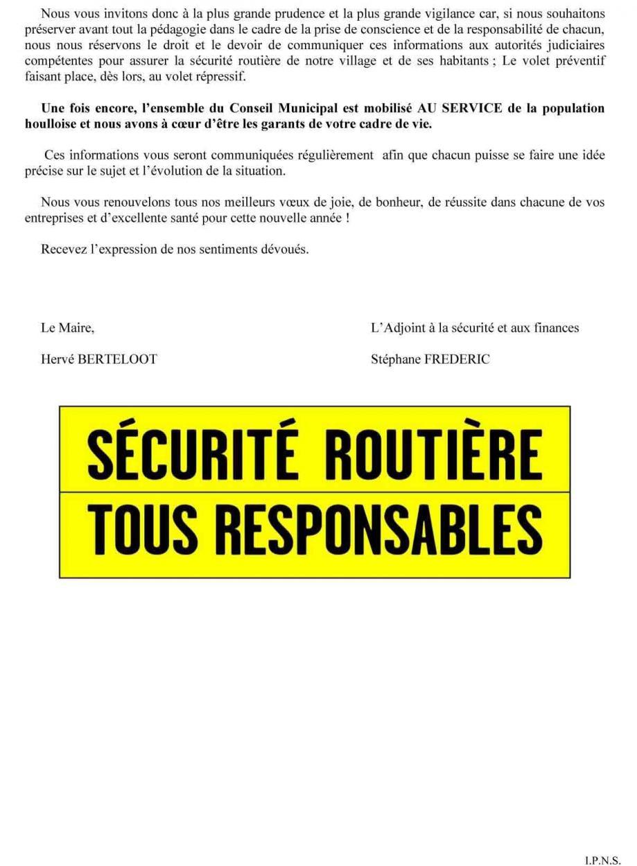 Lettre d information securite routiere houlle 01 2021 maj 2