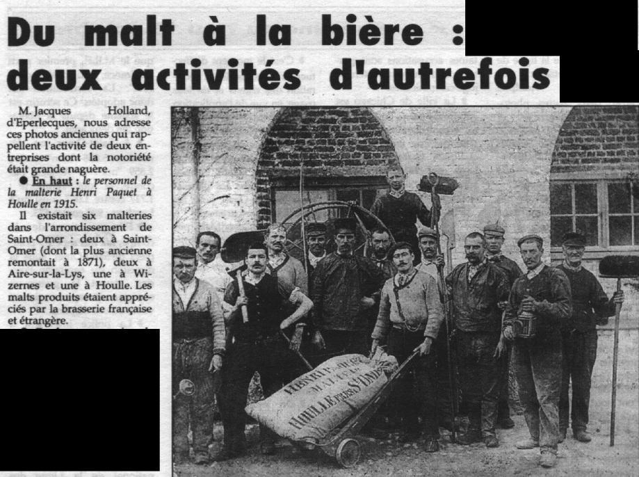 Malterie 1915