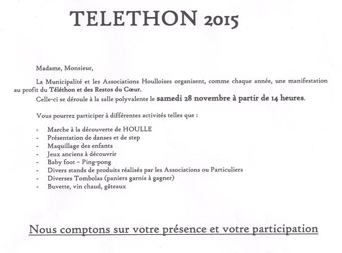 Telethon 28 nov