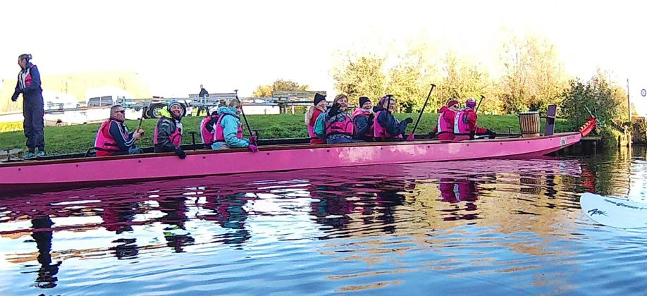 The pink smaugboat 11