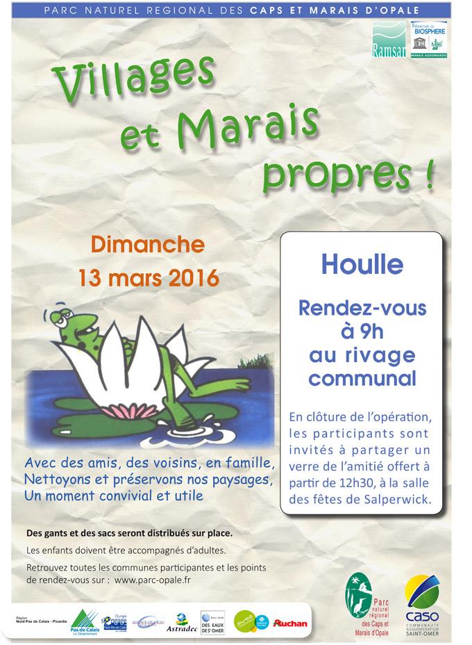 Villages et marais propres 2016 houlle